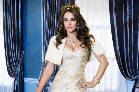 Liz Hurley, The Royals