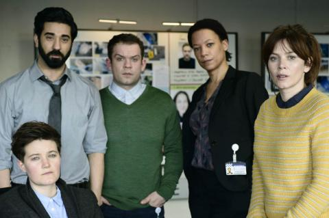 The cast of Marcella