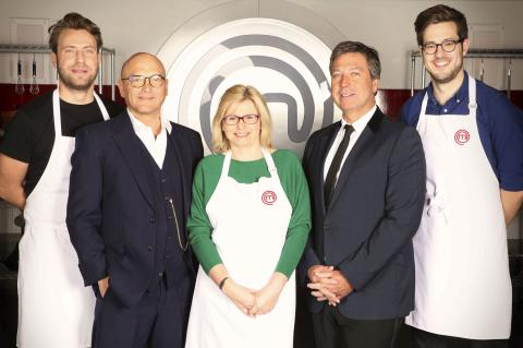 MasterChef finalists with Gregg Wallace and John Torode