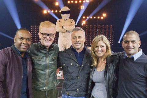 New order...Chris Evans with the Top Gear team
