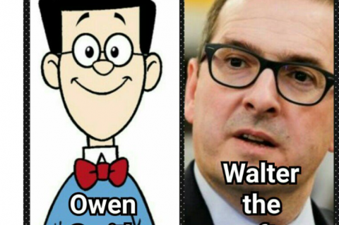 Owen Smith and Walter the Softy