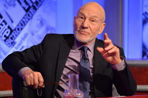 Patrick Stewart hosts Have I Got News For You