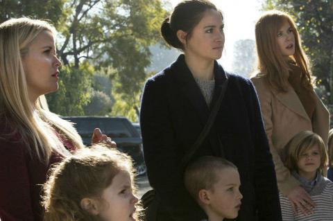 Nicole Kidman, Shailene Woodley and Reese Witherspoon in Big Little Lies