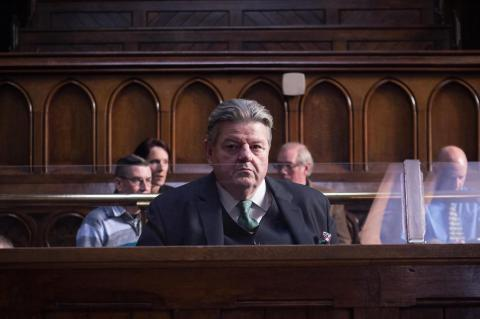 Robbie Coltrane in National Treasure