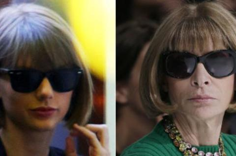 Same mum, Anna Wintour, Taylor Swift