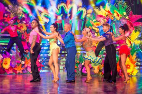 Strictly in Blackpool