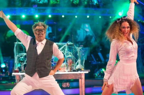 Strictly's Ed Balls