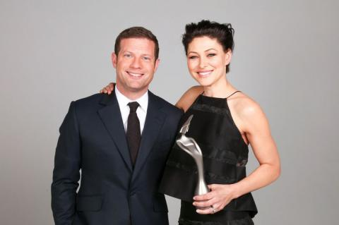 The Brits: Dermot O'Leary and Emma Willis