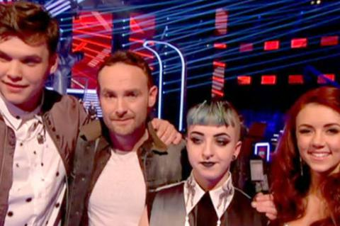 The Voice: The last four standing Kevin Simm, Lydia Lucy, Cody Frost and Jolan.