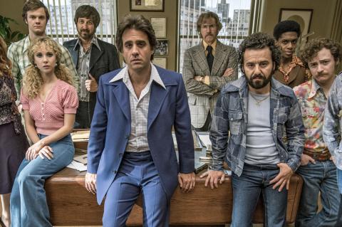 Vinyl, Bobby Carnnavale, Olivia Wilde, James Jagger, Mick Jagger, Martin Scorsese, Max Casella