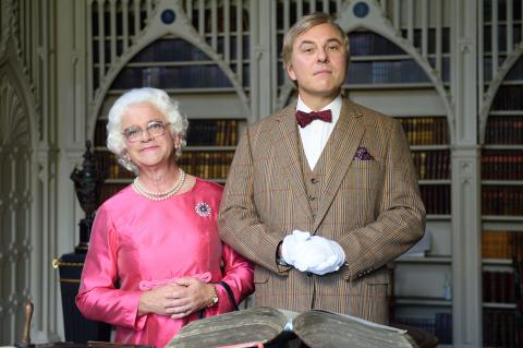 Harry Enfield and David Walliams
