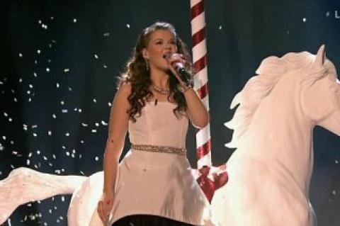 Hot favourite to win The X Factor Saara Aalto