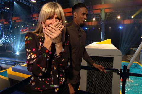 Zoe Ball and Ashley Banjo convulse with laughter