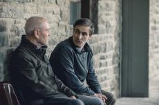 Adam Gettrick (Derek Riddell) with Julien Baptiste (Tcheky Karyo)