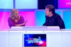 Jonathan Ross and Deborah Meaden