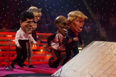 Simon Cowell, Camilla, Mo Farah and Donald Trump make a run for it