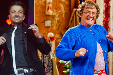 Peter Andre and Brendan O'Carroll