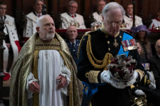 King Charles 111 with the late Tim Pigott-Smith