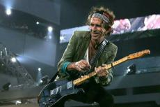Keith Richards in Rock 'n' Roll Guns For Hire: The Story Of The Sidemen