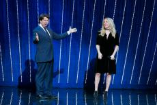 Michael McIntyre's new show kicks off with music from Ellie Goulding