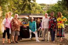 The Real Marigold Hotel with Amanda Barrie, Paul Nicholas, Bill Oddie, Lionel Blair, Dr Miriam Stoppard